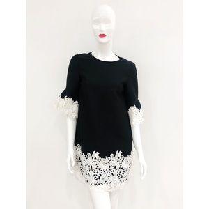 Black White Lace Mini